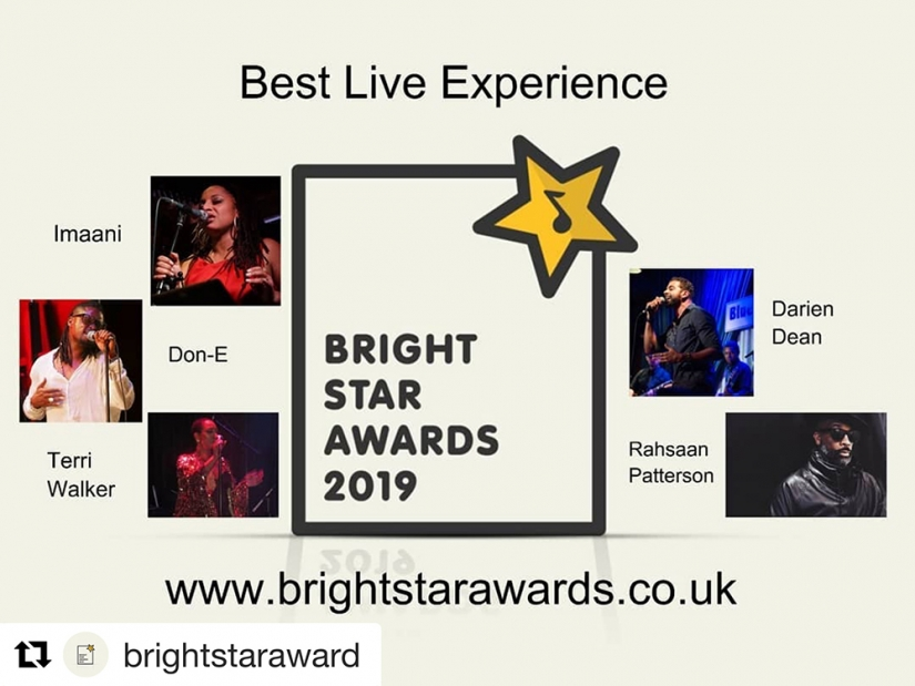 Bright Star Best Live Experience Graphic med