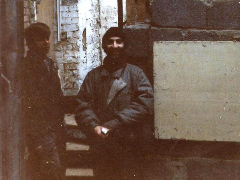 Rene and Steve, 1988