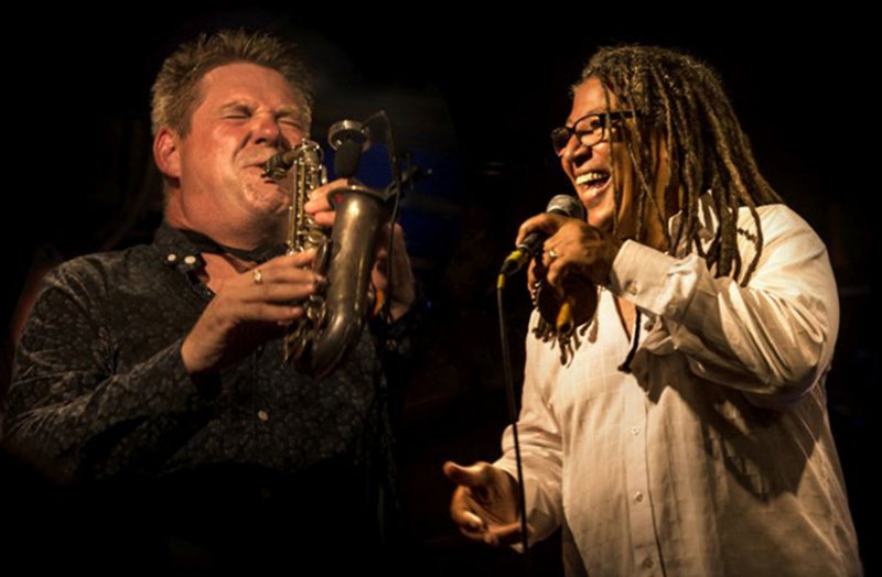"Noel McCalla and Derek Nash ""Some Kinda Wonderful"": Tribute to Stevie Wonder Photo 1"