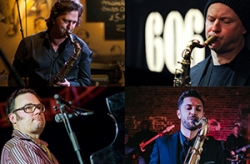 Saxophone Summit: Mornington Lockett, Ed Jones, Chris Maddock & Gareth Williams Trio - FULLY BOOKED