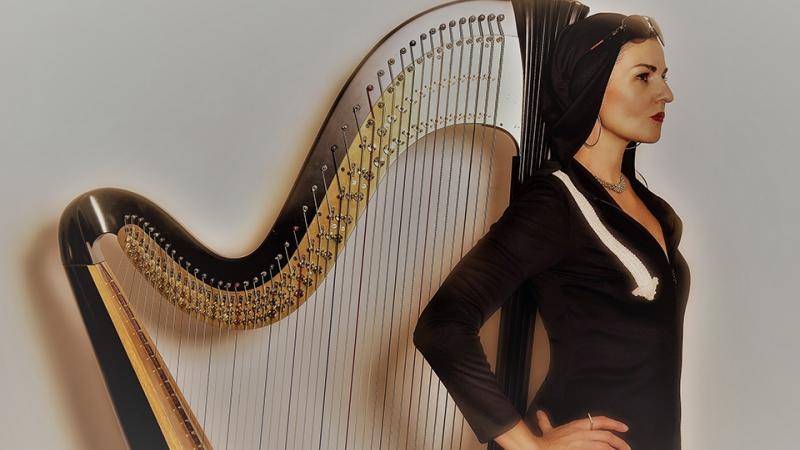 #606 Live Stream: Alina Bzhezhinska's Hip Harp Quintet MMXX