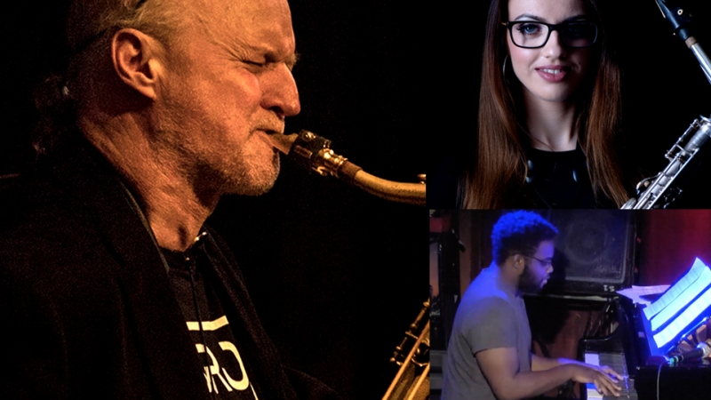 #606 Live Stream: The Peter King Memorial Sax Summit feat. Mornington Lockett with Alex Clarke & Special Guests with the Deschanel Gordon Trio